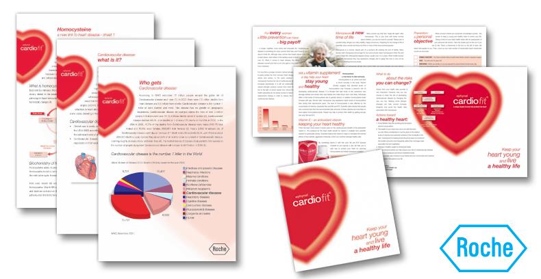 Roche CardioFit Literature Design