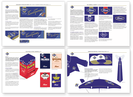 Fazer Confectionery Design Guidelines