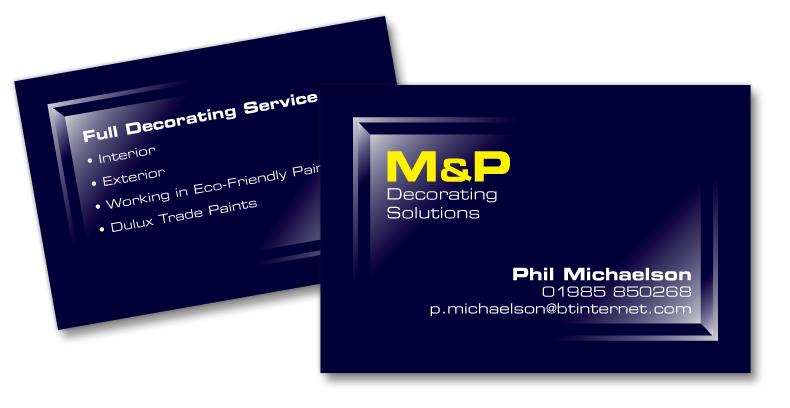 M&P Decorating Solutions Brand Design