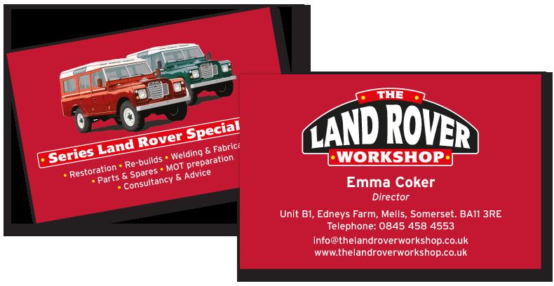 Land Rover Workshop Brand Design