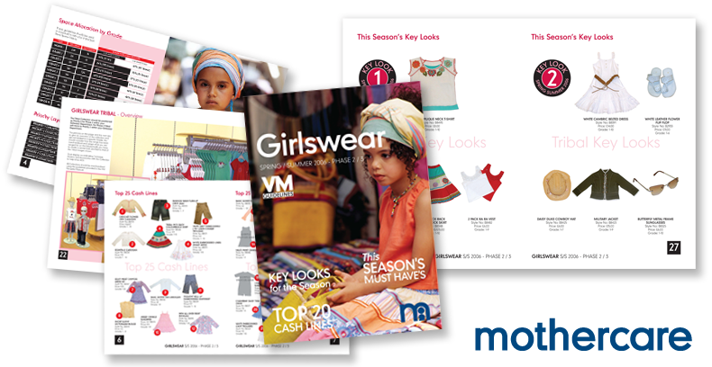 Mothercare Visual Merchandising Guidelines