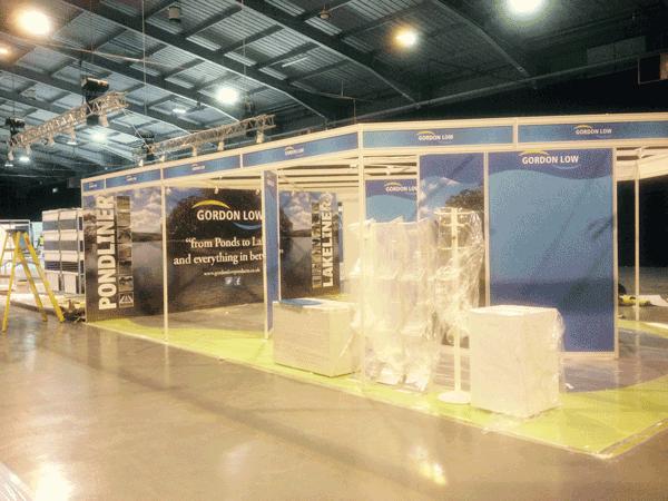 Gordon Low Exhibition Design Shell Scheme Photo 01