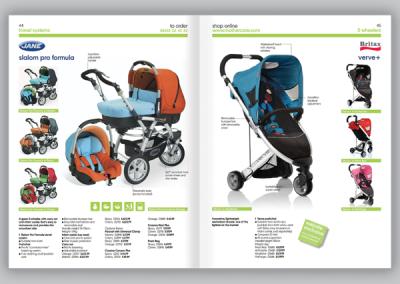 Mothercare Catalogue Design