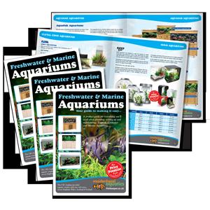 Maidenehead Aquatics Aquarium Brochure Design