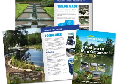 Gordon Low Brochure Design