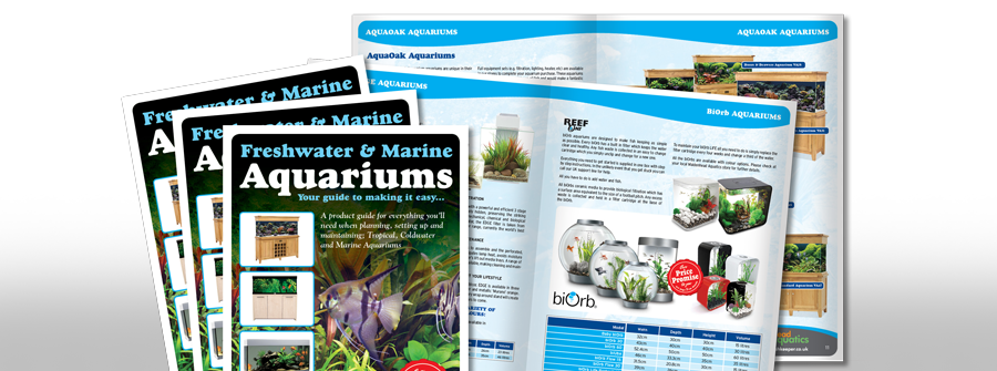 Juice Factory Design | Brochure Design for Aquatic Sector