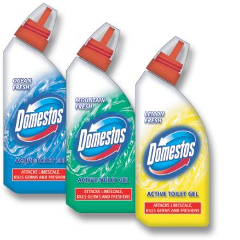 Domestos WC Cleaner - Shrink Wrap Pack Design