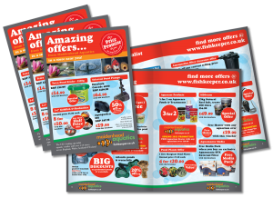 Aquatics Amazing Offers Leaflet Design 2013