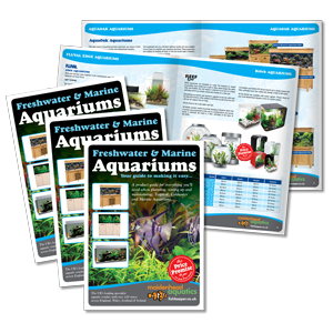 Maidenhead Aquatics Aquarium Brochure Design