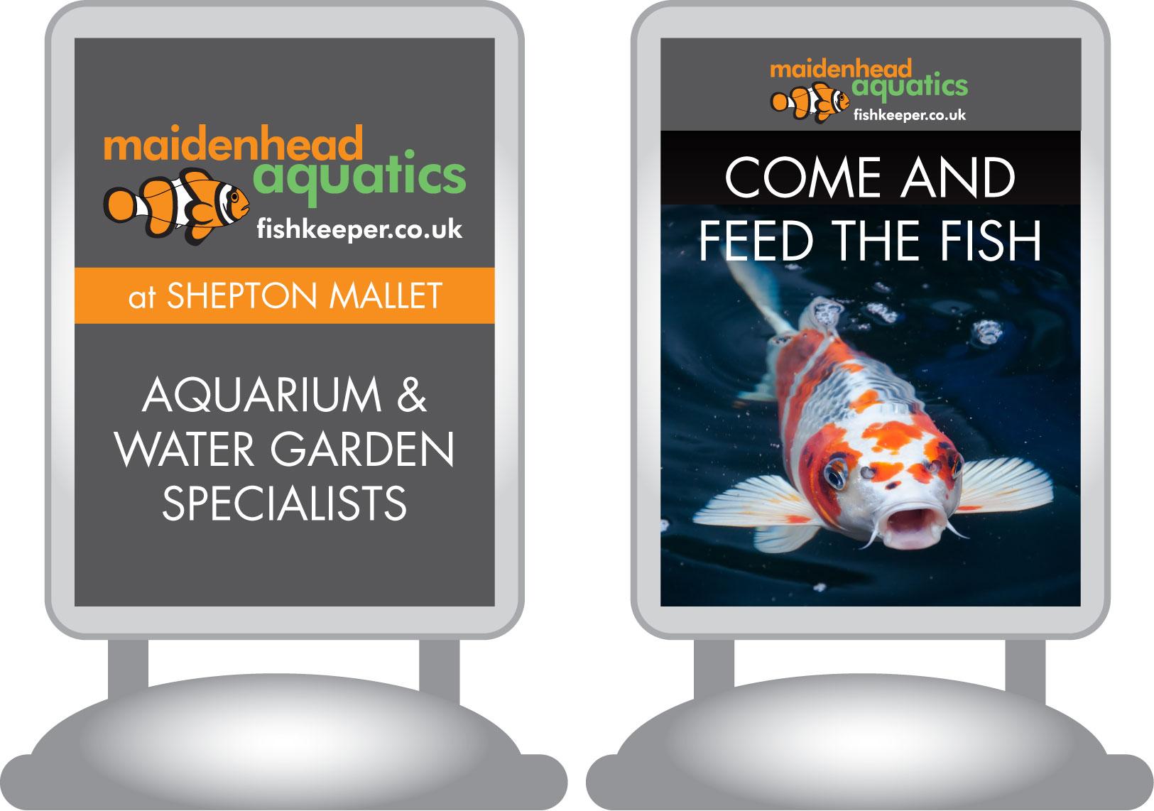 Maidenhead Aquatics Shepton Mallet Store Signage