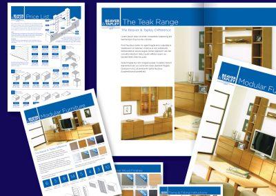 Beaver & Tapley Literature Design