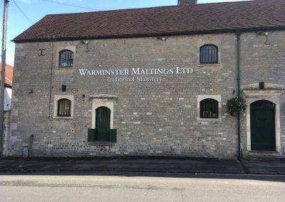 Warminster Maltings Website Design - Outside